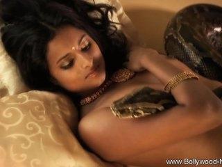 Beautiful Brunette Dancer From India So Erotic