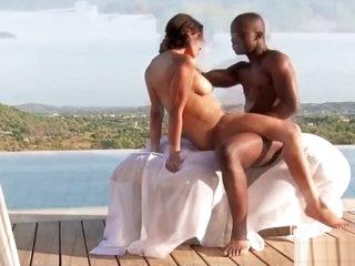 Ebony Couple Experiences Freedom To Fuck
