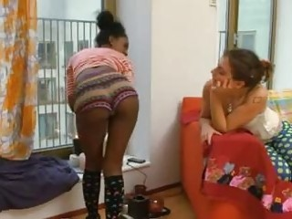 Indian and white teen lesbians
