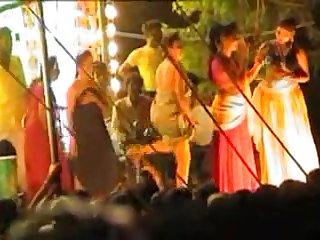 Naked Dance In Indian Village