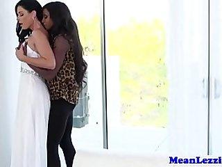 Mature glam lesbian oral fun with busty ebony