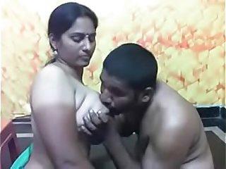 Indian Blowjob Caught on Camera