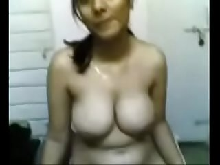 Indian GF removing infront of boyfriend