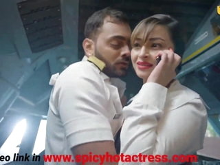 Sexy Indian girl fucks on an airplane