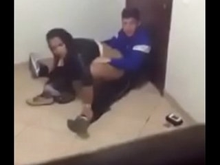 Teens caught having sex during class break