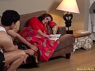 Pregnant Desi Mom fucked in ass and pussy by the servant