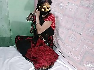 Indian style home sex anal in traditional Sari Indian couple gone wild
