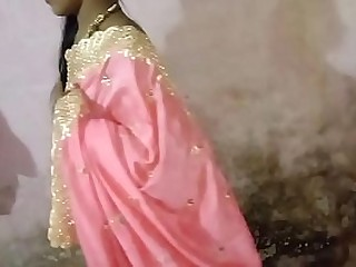 Fucked sister-in-law in pink sari