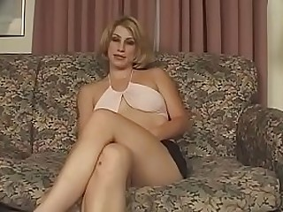 A beautiful blonde gets fucked by an Indian