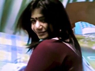 Cute Indian Bhabhi Blows Her Devar